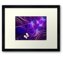Butterfly Embrace Framed Print