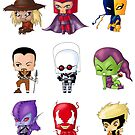 Chibi Villains 3 by artwaste