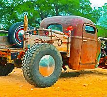 Texas Pickup by artstoreroom