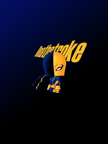 Chibi Deathstroke by artwaste