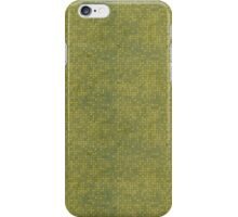 Grungy Yellow Micro Dots iPhone Case/Skin