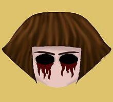 Fran Bow (eye sockets) by Laura Scronce