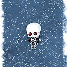 Chibi Mr. Freeze by artwaste