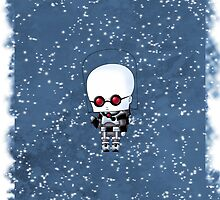 Chibi Mr. Freeze by artwaste