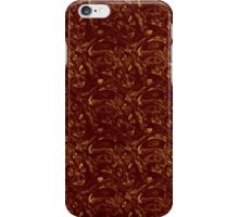 Grungy Red and Yellow Pavers iPhone Case/Skin