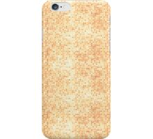 Grungy Pink Micro Dots iPhone Case/Skin