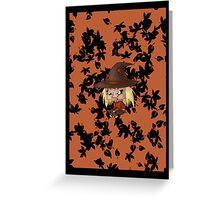 Chibi Scarecrow Greeting Card