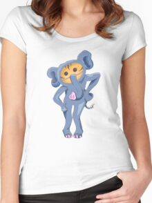 Elephant Cat Women's Fitted Scoop T-Shirt