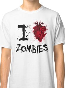 I heart zombies Classic T-Shirt