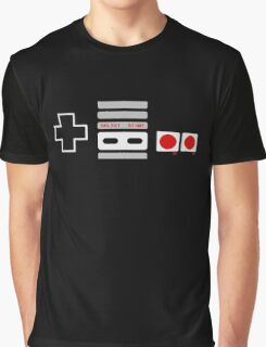 SNES Controller Graphic T-Shirt