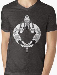 feather Mens V-Neck T-Shirt