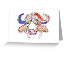 Cape Buffalo Greeting Card