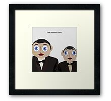 Frank Sidebottom, Actually Framed Print