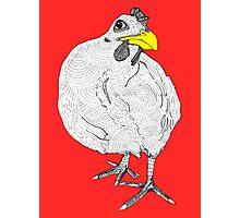 Chickentown Photographic Print