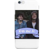 Kian and Jc blue  iPhone Case/Skin