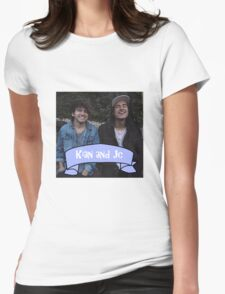 Kian and Jc blue  Womens Fitted T-Shirt