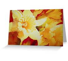 Sunshine on Earth Greeting Card