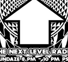 NOV 2012 THE NEXT LEVEL RADIO MERCH CROPCIRMANDALA11 Sticker