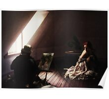 The Painting in the Attic Poster