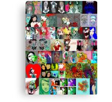 collage 10 Canvas Print
