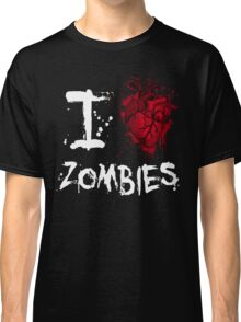 I love zombies Classic T-Shirt
