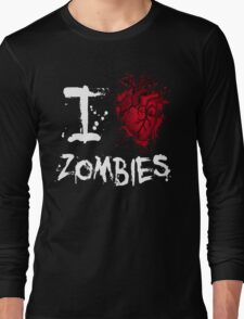I love zombies Long Sleeve T-Shirt
