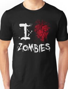 I love zombies Unisex T-Shirt