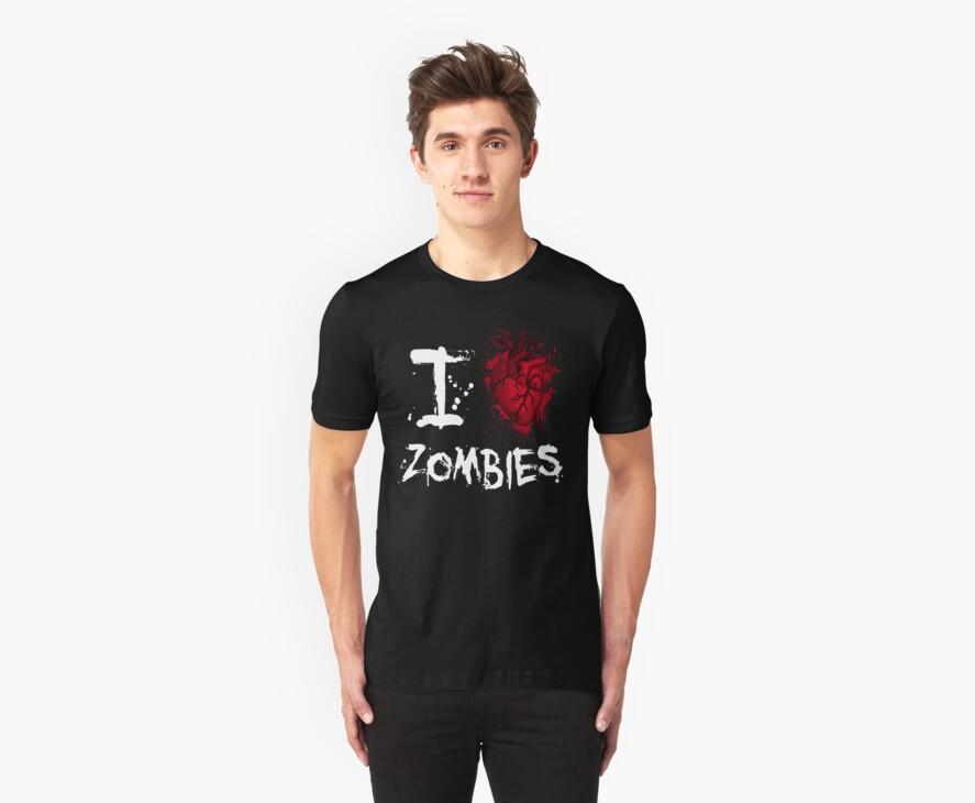 I love zombies by Vigilantees .