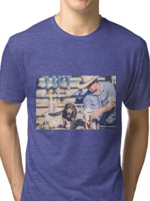 working dogs 7 Tri-blend T-Shirt