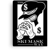 The Ski Mask Way Canvas Print
