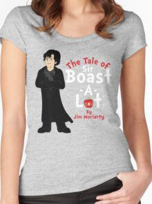 The Tale of Sir Boast-A-Lot Women's Fitted Scoop T-Shirt