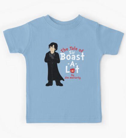 The Tale of Sir Boast-A-Lot Kids Tee