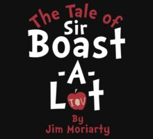The Tale of Sir Boast-A-Lot (Just Title Variant) Kids Tee