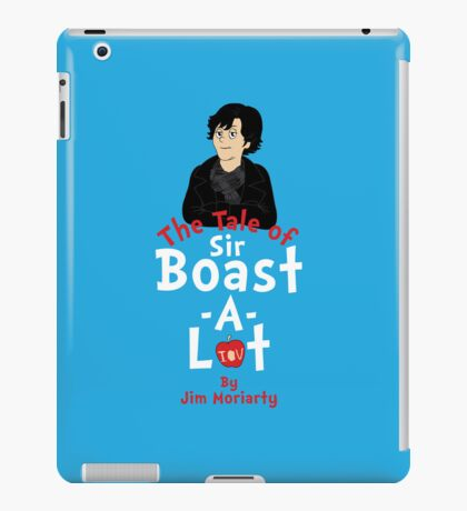 The Tale of Sir Boast-A-Lot (Vertical Variant) iPad Case/Skin