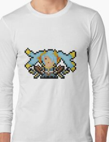 Sona, The Pixel Song Queen Long Sleeve T-Shirt