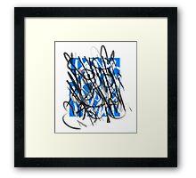 Aquaticus cum nymphaeis  Framed Print