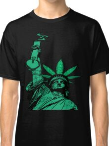 The Pursuit of Hempiness (Legalize New York) Classic T-Shirt