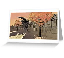 Empty Streets Greeting Card