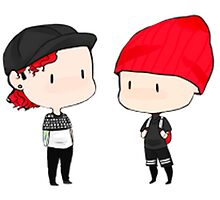 TOP JOSH DUN TYLER JOSEPH by winter565