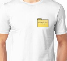 Geeks for Life - Geek Cards Unisex T-Shirt
