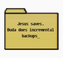 Incremental Backups - Geek Cards by bertadp