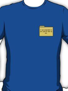 Programming in Pearl - Geek Cards T-Shirt