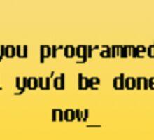 Programming in Pearl - Geek Cards Sticker