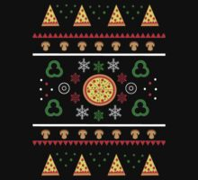 Winter Pizza in Black Kids Clothes