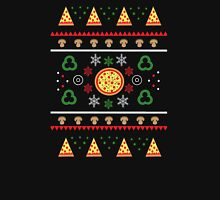 Winter Pizza in Black Women's Fitted Scoop T-Shirt