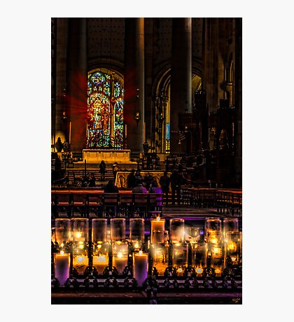 Cathedral Interior Photographic Print