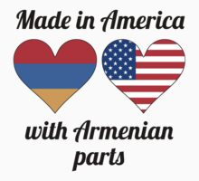 Made In America With Armenian Parts Baby Tee