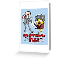 Big Adventure Time Greeting Card