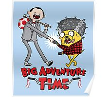 Big Adventure Time Poster