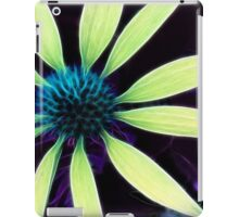 Kathie McCurdy Lime Green Cone Flower Abstract iPad Case/Skin